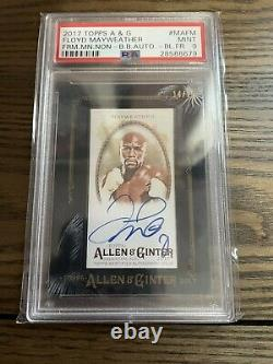 Topps Allen Ginter Big Lot 2011 Manny Pacquiao Floyd Mayweather Boxe 9 Cartes