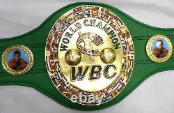 Vente! Floyd Mayweather Jr. Signé Vert Signé Vert Wbc Full Size Belt Jsa