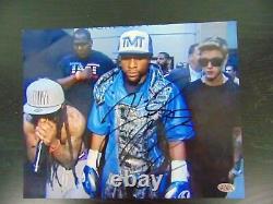 Welterweight Champ Floyd Mayweather Jr Signé À La Main 10x8 Couleur Photo Paas Coa